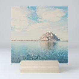 Morro Rock photograph Mini Art Print