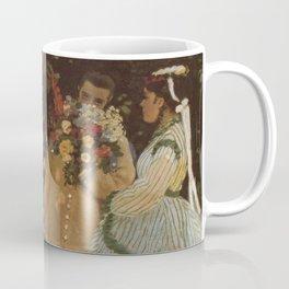 Monet- Women in the Garden, nature,Claude Monet,impressionist,post-impressionism,painting Coffee Mug