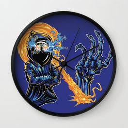 N is for Necromancin' Wall Clock