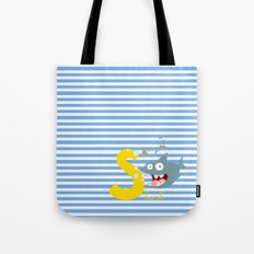 s for shark Tote Bag