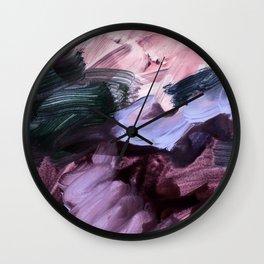abstract painting VII Wall Clock