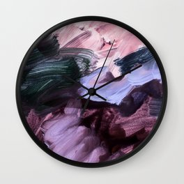 abstract painting VII Wall Clock
