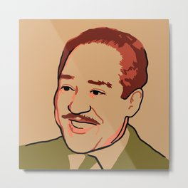Langston Hughes Metal Print