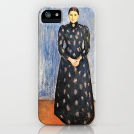 Inger in Black and Violet - Digital Remastered Edition iPhone Case
