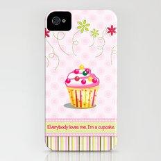 Cupcake Love iPhone (4, 4s) Slim Case