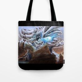 Bladed Dragon Tote Bag