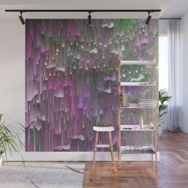 Raining colors Wall Mural