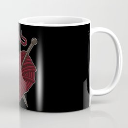 I Love Knitting | Wool Needle Heart Sewing Craft Coffee Mug