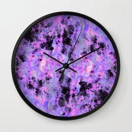 Flux Blue Wall Clock
