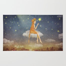 In night sky Rug