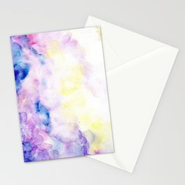 fantasy watercolor Stationery Cards