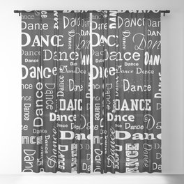 Just Dance! Sheer Curtain