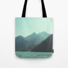 Desolation is beyond the horizon - Diablo Lake Tote Bag