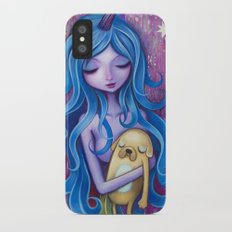 Lady Rainicorns Loving Arms iPhone X Slim Case