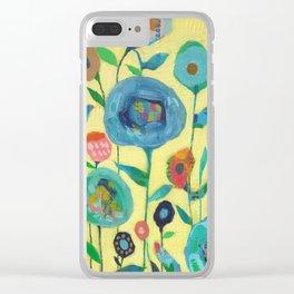 Spirit Garden Clear iPhone Case
