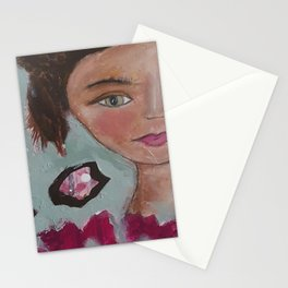Occhi verdi  Stationery Cards