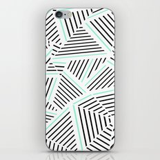 Ab Linear Zoom With Mint iPhone Skin