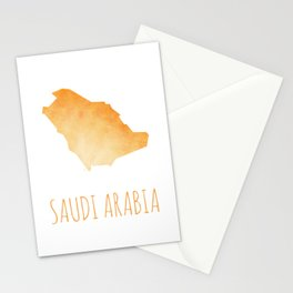 Saudi Arabia Stationery Cards