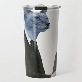 Cat Chat Travel Mug