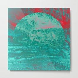Textures & Sunsets Metal Print