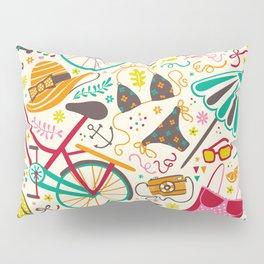 Seaside Cycle Pillow Sham