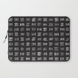 Lines on Lines // white Laptop Sleeve