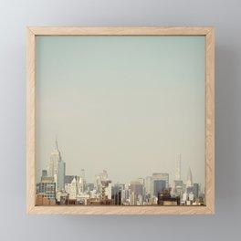 Skyline #1 Framed Mini Art Print