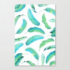 Turn Over a New Banana Leaf #society6 buyart #bananaleaves Canvas Print