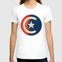 captain silva T-shirts featuring Captain by Ian Wilding