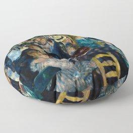 Renoir - Dance at Le Moulin de la Galette Floor Pillow