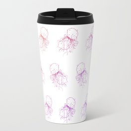 Sunset Jellyfish Travel Mug