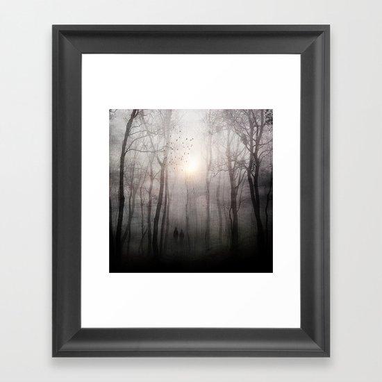 Eternal walk Framed Art Print
