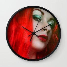Posion Ivy Wall Clock