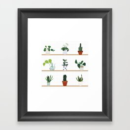 House Plants Framed Art Print