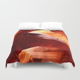 A Symphony In Sandstone Duvet Cover