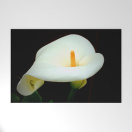 Calla Lily Welcome Mat