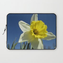 Daffodil Out of the Blue Laptop Sleeve