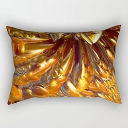 Gooey Chocolate Caramel Nougat #1 Rectangular Pillow
