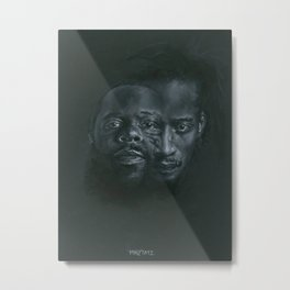 Dah Shinin' Metal Print