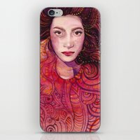 witch iPhone & iPod Skins featuring WITCH by Verismaya