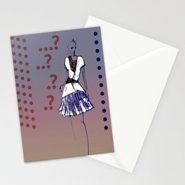 Question mark Stationery Cards