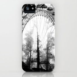 Forest Wheel iPhone Case