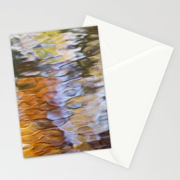 Water Abstract Art Stationery Cards