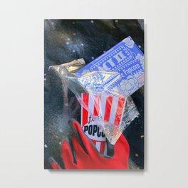 Fresh Nuked Popcorn Metal Print