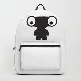 Cute Alien Creature Boy Backpack
