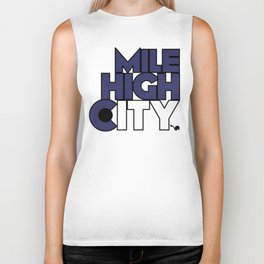 Mile High City - R Biker Tank