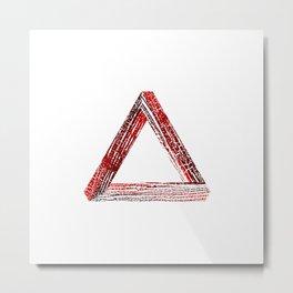 Fantastic triangle Metal Print
