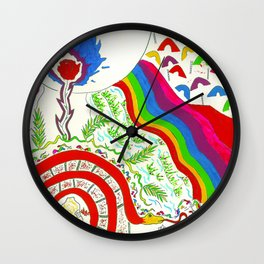 Tainã, King of the Dream Castle Wall Clock