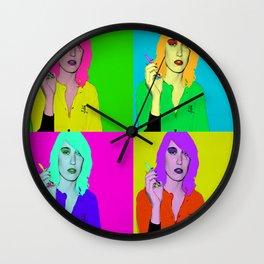 Deborah Francois Wall Clock