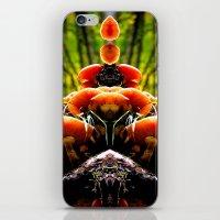 mushrooms iPhone & iPod Skins featuring mushrooms by haroulita